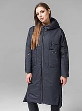 Практичная женская демисезонная куртка CW19C931CW - графитовая - новая коллекция CLASNA 2019, фото 3