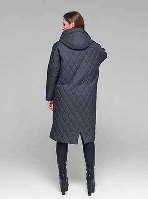Практичная женская демисезонная куртка CW19C931CW - графитовая - новая коллекция CLASNA 2019, фото 2