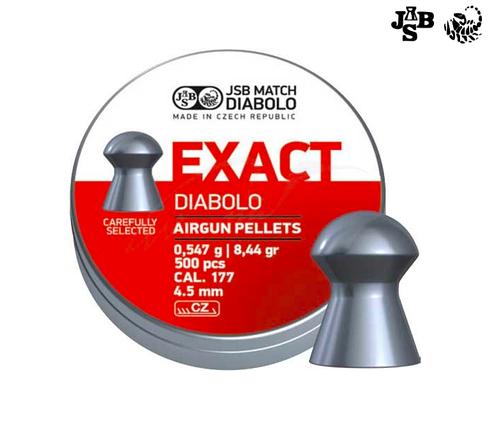 Пули пневматические JSB Diabolo Exact 4.51мм 0.457г 500шт, фото 2