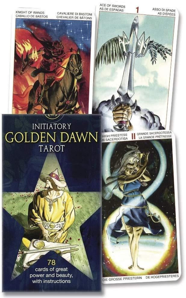 "Initiatory Tarot of the Golden Dawn/ Таро Ритуалы Ордена ""Золотой Зари"""