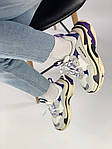 Кроссовки Balenciaga Triple S Violet, фото 5