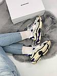 Кроссовки Balenciaga Triple S Violet, фото 8