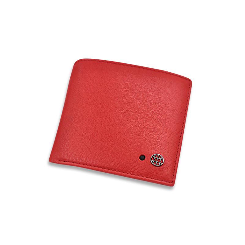 Розумний гаманець SUNROZ Smart LB Wallet із захистом від крадіжки Червоний (SUN3537)