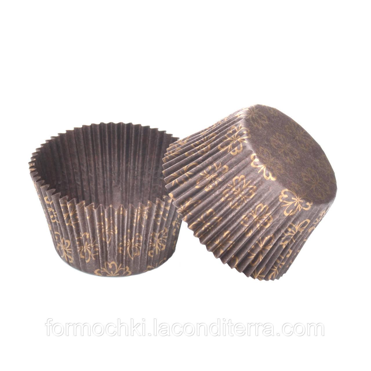 """Формы для кексов и маффинов """"Пасхальный орнамент"""" 140 (Ø55, бортик – 42,5 мм), 1000 шт."""