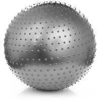М'яч фітнес для масажу METEOR 75см з насосом, фото 1