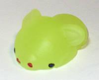 Сквиш  (Каваи), маленькие звери, светятся. желтый 4 см.