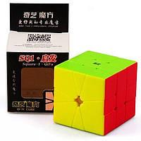 Головоломка кубик QiYi MoFangGe Square-1 QiFa Stickerless, фото 1