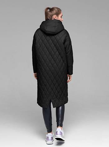 Практичная женская демисезонная куртка CW19C931CW - черная - новая коллекция CLASNA 2019, фото 2