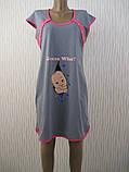 Туника -ночная рубашка для беременных и кормящих, фото 4