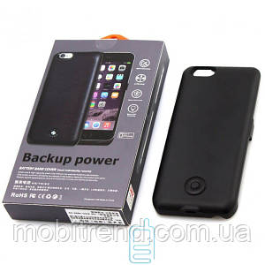 Чехол-аккумулятор X366 Apple iPhone 6 Black Matte