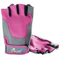Перчатки Fitness One (L size blue, pink)