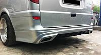 Накладки на задний бампер Mercedes Vito 2 (Viano) W639 AMG