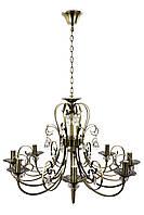 Люстра свеча (60х72х72 см.) Бронза YR-6349/8