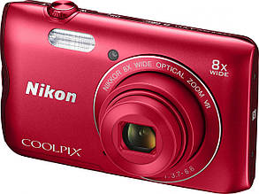 Фотопарат Nikon Coolpix A300 Red