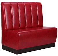 Диван Гранд на цоколе (100Н) венге 1200х670х1100Н Лаки красный