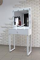 Рабочее место визажиста ALITA на металлических ножках, фото 1
