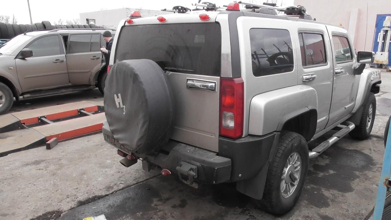 25883847 Крышка багажника для Hummer H3 оригинал в отличном состоянии. В наличии!