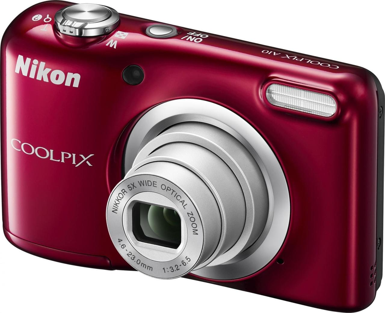 Фотоапарат Nikon Coolpix A10 Red