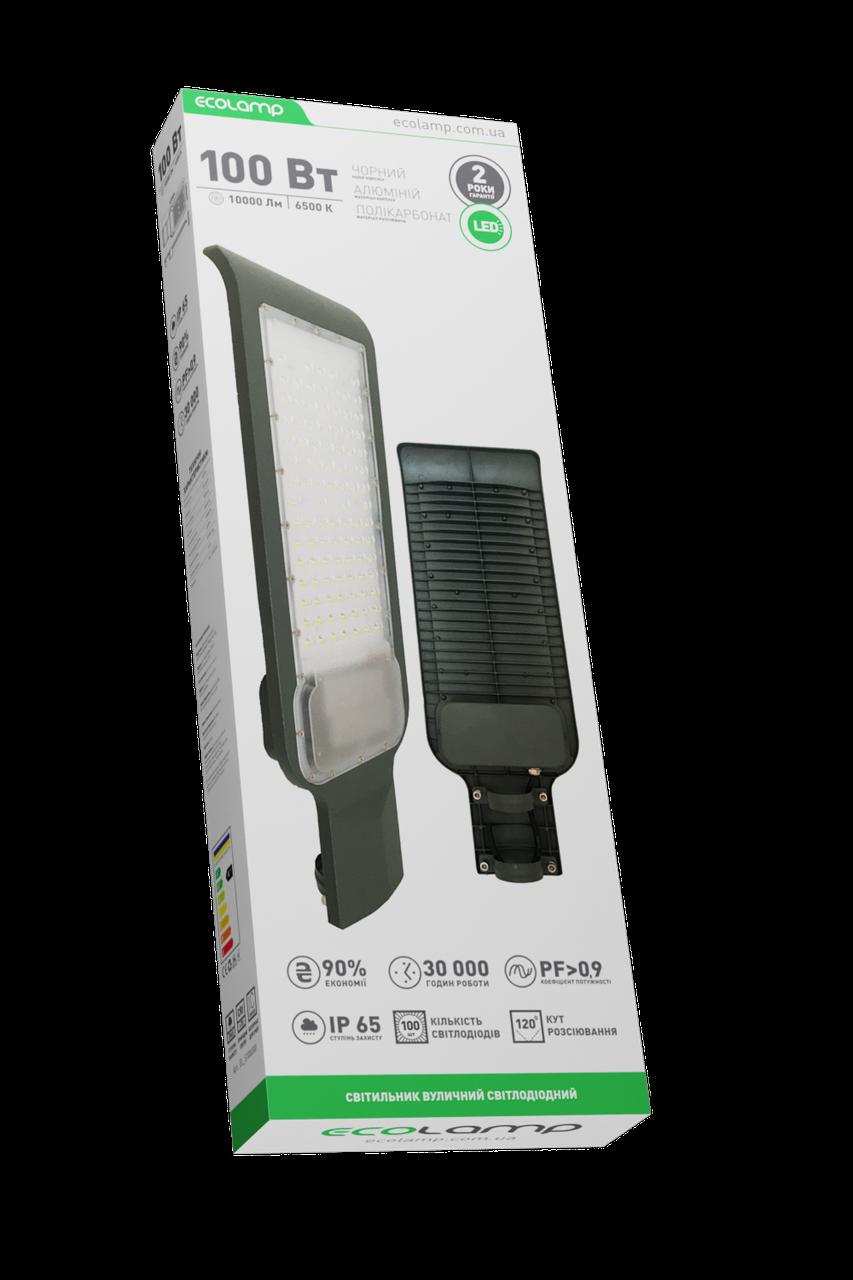 Уличный консольный LED светильник 100Вт, 10000Lm, 6500K
