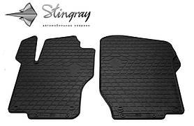 Передние резиновые коврики Mercedes-Benz W164 ML 2005- (2-шт) Stingray 1012382