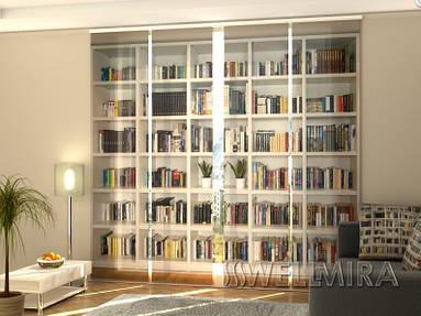 Панельные Фотошторы Книги 240 х 240 см фото шторы штора штори