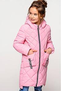 Весенняя удлиненная куртка на девочку Жаклин