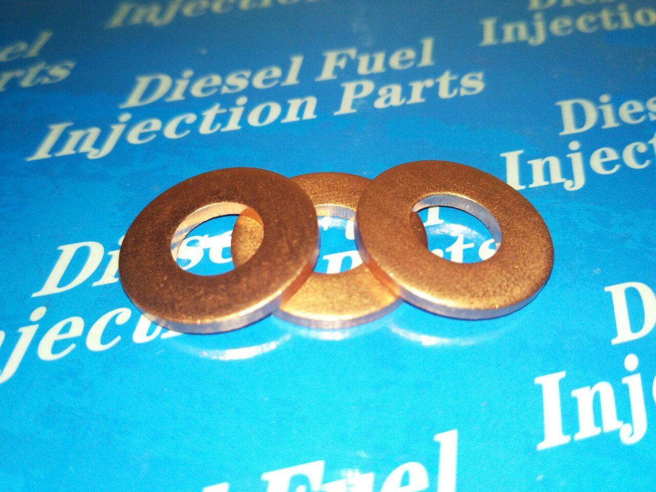 Шайба (кольцо) медная 6х12х1 мм