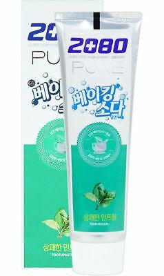 Зубная паста с пищевой содой со вкусом мяты Aekyung 2080 Pure Baking Soda Mint Blast