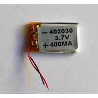 Аккумулятор литий-полимерный 3.7V 400mAh 4*20*30мм