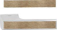 Декоративная вставка Tupai 142x21,5 игуана золото (кожа)