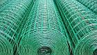 Сварная сетка в рулонах Премиум 1.5х10м высотой с ПВХ покрытием, фото 3