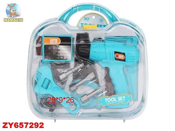 Игровой набор инструментов 6602-1 в чемодане, фото 2