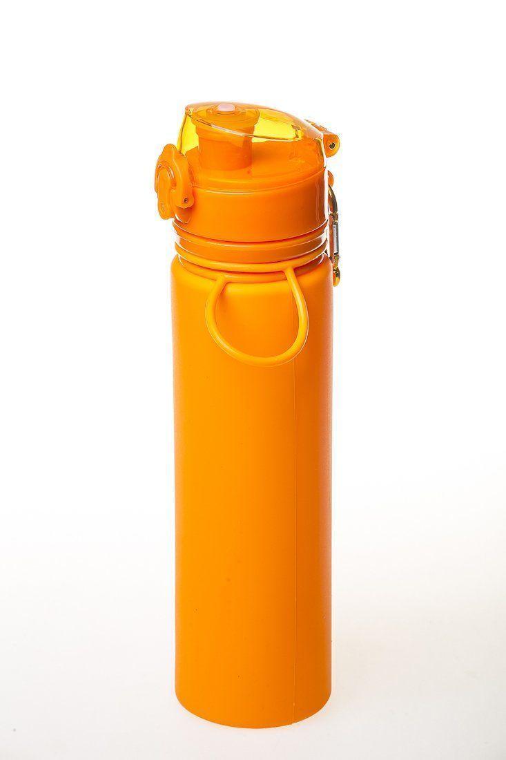 Бутылка силикон 700 мл оранжевый Tramp TRC-094-orange