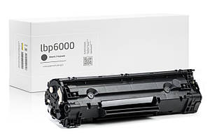 Картридж Canon i-Sensys LBP6000 (чёрный) совместимый, стандартной ёмкости (1.600 копий) аналог от Gravitone