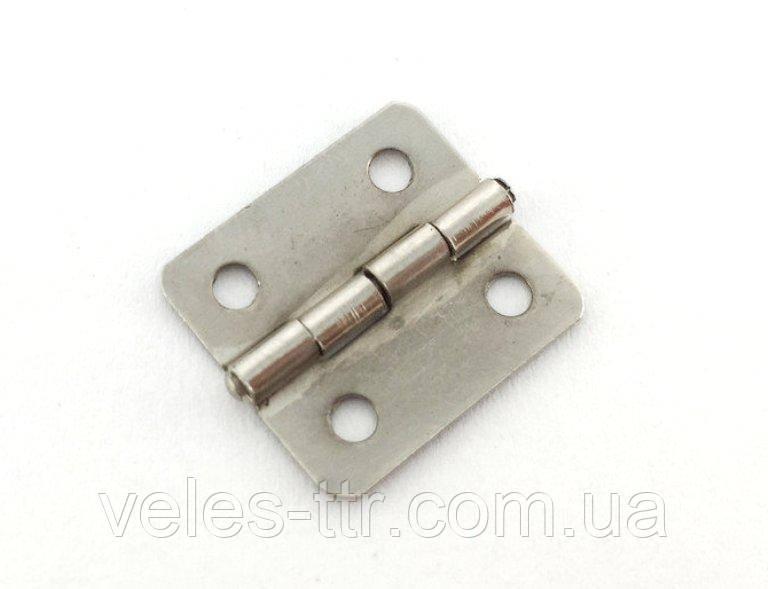 Петля для шкатулок сталь 19х17 мм 270° універсальна