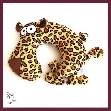 """Дорожня подушка """"Леопард Едуард"""""""