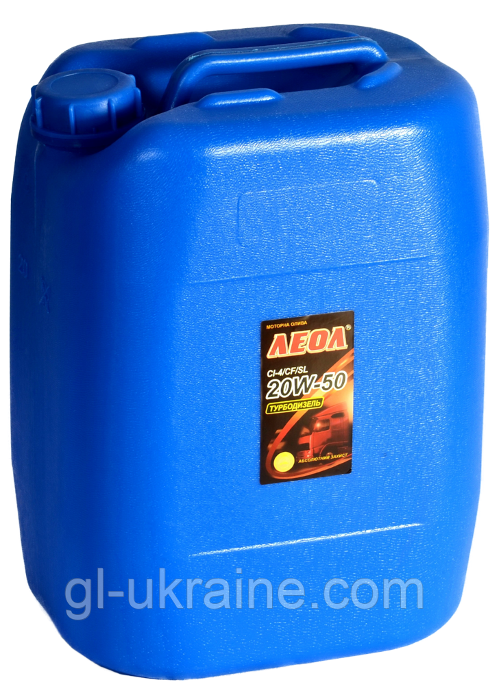 ЛЕОЛ TURBODIESEL EXTRA 20W-50, Моторное масло bag in box 20 л