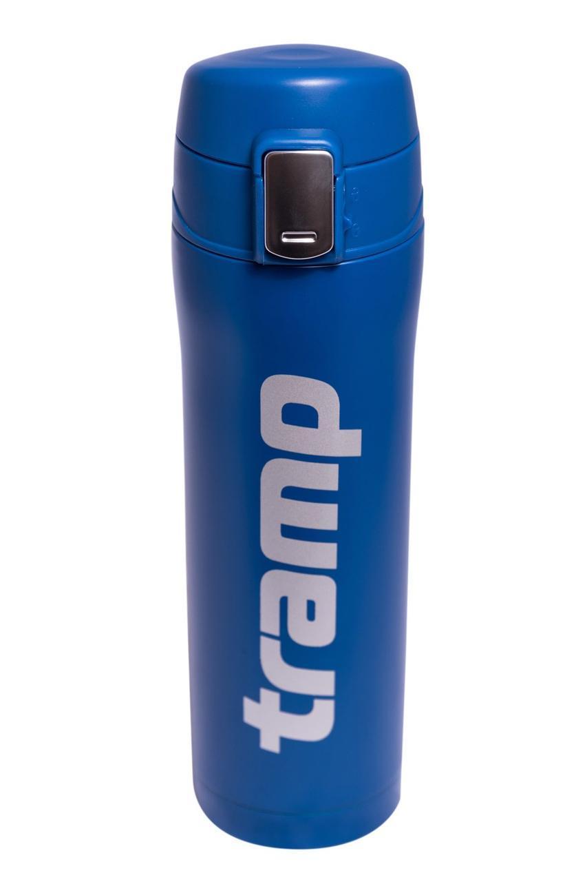 Термос 0,45 л синий Tramp TRC-107-blue