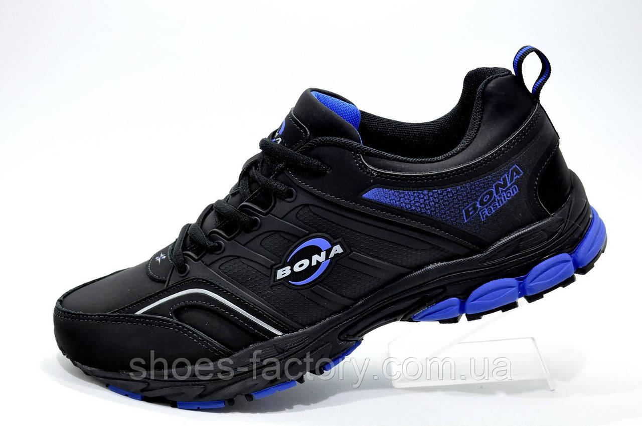 Мужские кроссовки Bona 2019, Dark Blue\Black (Бона)