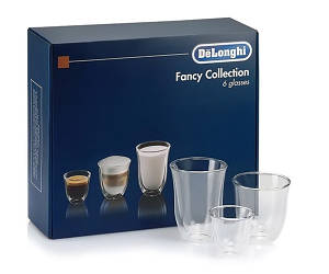 Набор стаканов Delonghi SC 302 MIX (60/190/220 мл) 6 шт