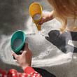 Ігровий набір для піску і снігу Quut Cuppi совочки і м'ячик (170365), фото 3