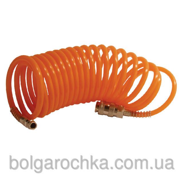 Шланг спиральный полиуретановый 6*8мм 10м Intertool PT-1704 - Интернет-магазин  БОЛГАРОЧКА в Харькове