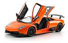 Машинка р/у 1:18 Meizhi лиценз. Lamborghini LP670-4 SV металлическая (оранжевый), фото 4
