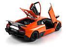 Машинка р/у 1:18 Meizhi лиценз. Lamborghini LP670-4 SV металлическая (оранжевый), фото 8