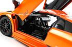 Машинка р/у 1:18 Meizhi лиценз. Lamborghini LP670-4 SV металлическая (оранжевый), фото 7