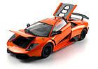 Машинка р/у 1:18 Meizhi лиценз. Lamborghini LP670-4 SV металлическая (оранжевый), фото 5