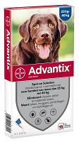 Капли Bayer Advantix (Адвантикс) от блох и клещей у собак более 25-40 кг