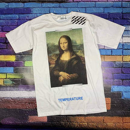 Футболка OFF WHITE Mona Lisa W • Топ бренд • Топ качество • Ориг бирки • , фото 2