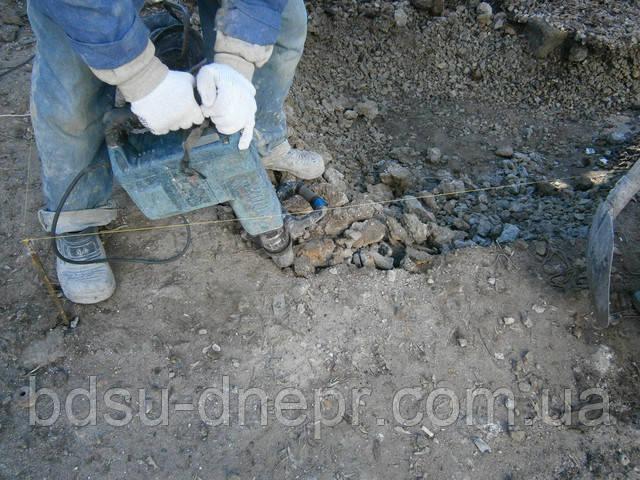 Выемка грунта в Днепропетровске