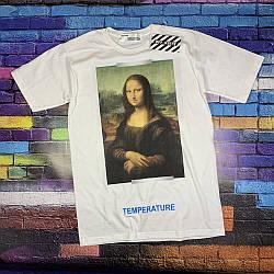 Футболка OFF WHITE - Mona Lisa White • Топ качество •  Ориг бирки • Все размеры